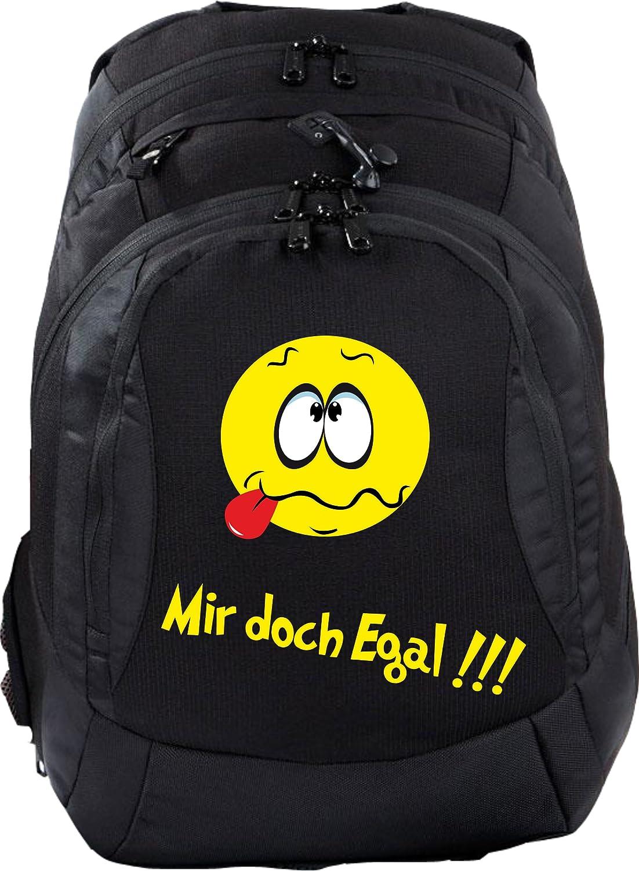 Mein Zwergenland Schulrucksack Teen Compact, 26 L, Schwarz, Mir doch egal B00EX45GTY | Modern