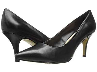 Bella-Vita Define (Black Leather) High Heels