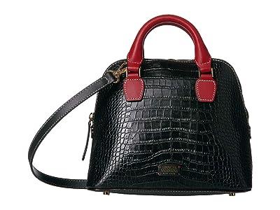 Frances Valentine Small Rachel Satchel (Croc) Handbags