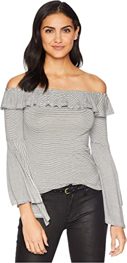 Let'er Loose Off the Shoulder Top