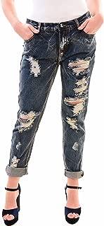 One Teaspoon Women's NBW Blue Black Awesome Baggies Jeans Blue Size 25
