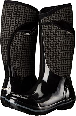 Plimsoll Houndstooth Tall