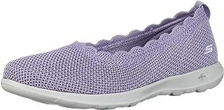 حذاء رياضي مسطح للنساء Go Walk Lite-Glitz من Skechers