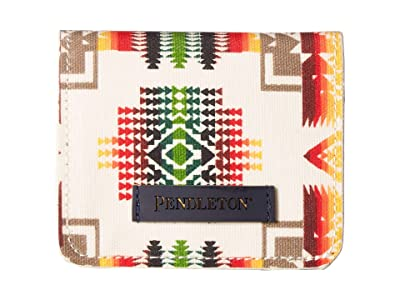 Pendleton Canopy Canvas Snap Wallet (Chief Joseph) Handbags