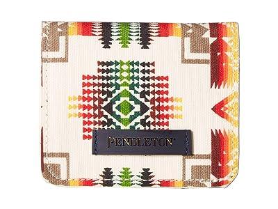 Pendleton Canopy Canvas Snap Wallet (Chief Joseph) Handbags