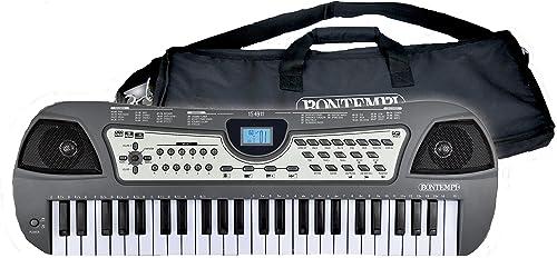 Bontempi 15 4911 Digitales Keyboard. 49 Midi-Tasten (C-C), Multi-ColGoldt