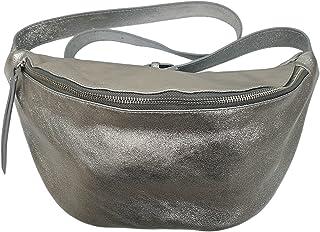 Italy borse in pelle echt Leder Damen Handtasche| crossover Body Bag Mittelgroß| Umhängetasche mit verstellbaren Riemen