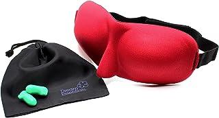 Dream Essentials Sweet Dreams Contoured Sleep Mask - Red