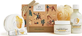 Sponsored Ad - The Body Shop Almond Milk and Honey-5pc Medium Gift Set, Includes Our Signature Enriched With Community Tra...