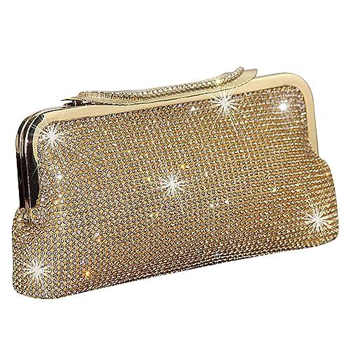 Braut-accessoires Damentaschen Intelligent Clutch Tasche Handtasche Abendtasche Edle Damentasche Mit Strass Schwarz Party