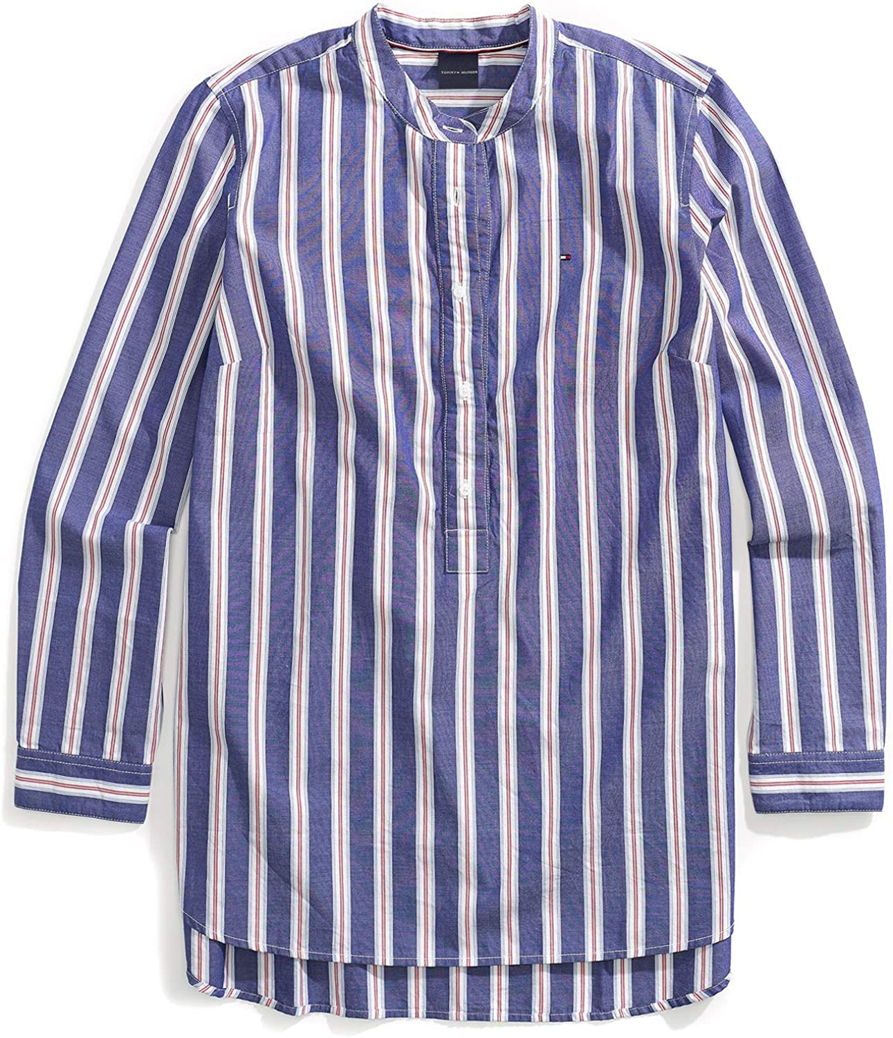 Tommy Hilfiger Women's Adaptive Tunic Shirt with Magnetic Buttons