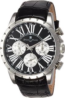 [サルバトーレマーラ]Salvatore Marra メンズ腕時計 サルバトーレマーラ マルチカレンダー SM15103-SSBK メンズ 【正規輸入品】