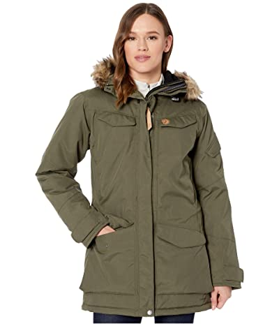 Fjallraven Nuuk Parka (Laurel Green) Women