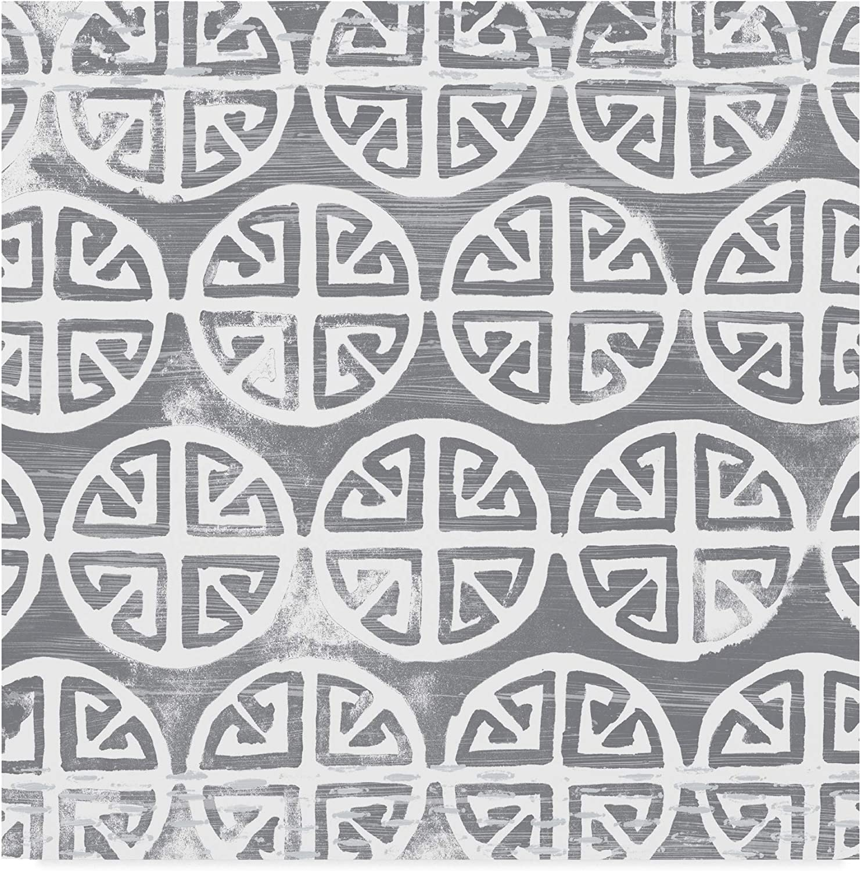 Trademark Fine Art Monoprint Tile II by June Erica Vess, 14x14
