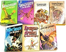Dragonriders of Pern Books 1-7 - Dragonflight, Dragonquest, Dragonsong, Dragonsinger, The White Dragon, Dragondrums, and M...