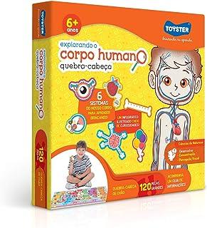 Toyster Brinquedos Explorando o Corpo Humano, Grandão 120 Peças