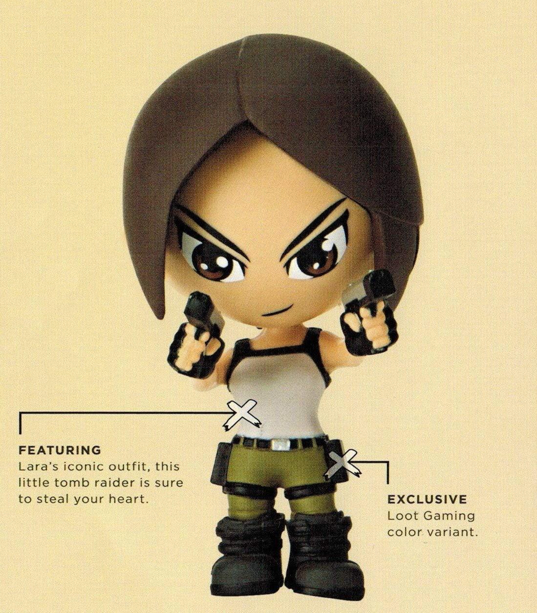 Loot Crate Tomb Raider Lara Croft Exclus SALENEW大人気! 2016 Figure July 本日の目玉 Gaming