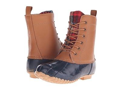 Tundra Boots Albany (Navy/Tan) Women