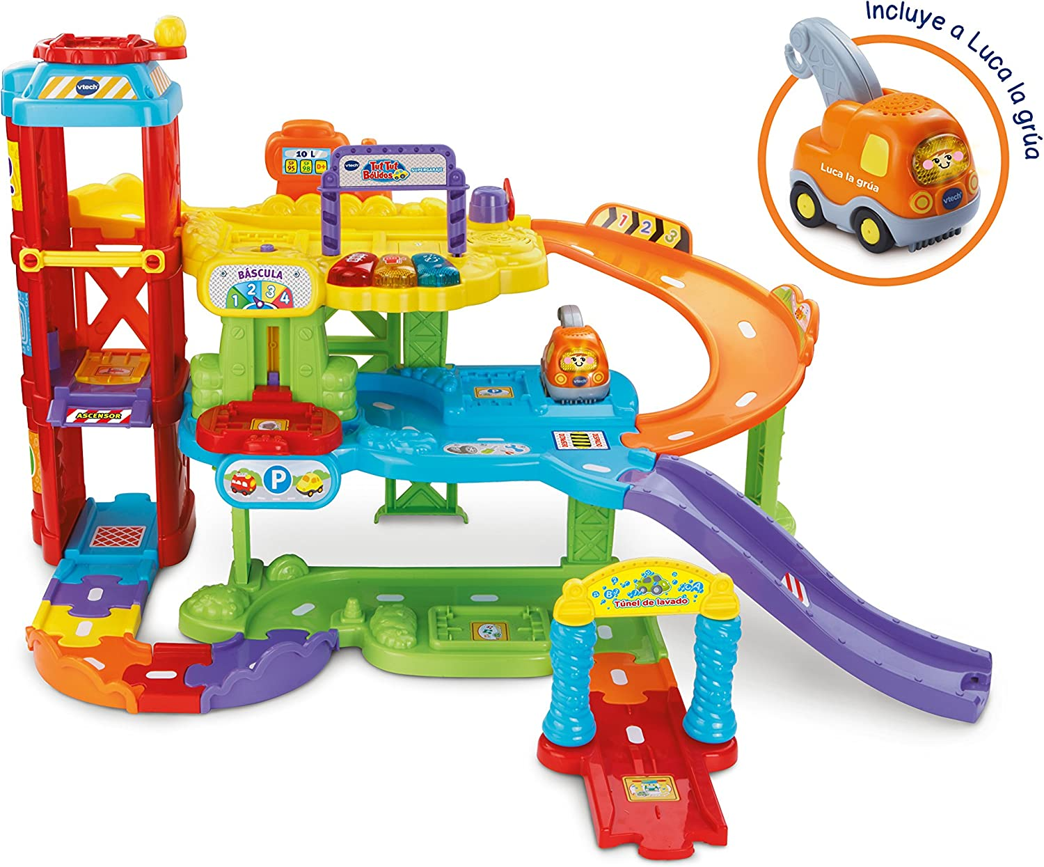 Vtech Supergarage Tut Tut Balls  Includes 3 Songs and 12 Melodies with Phrases and Sounds (3480180022)
