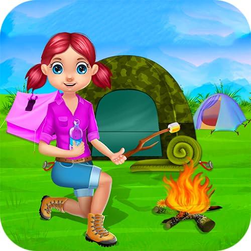 Cámping vacaciones niños : juegos de campamento de verano y actividades de...