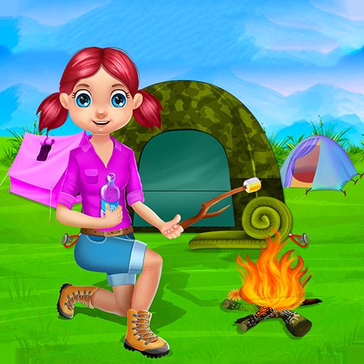 Camping Urlaub Kinder : Sommerlager Spiele und Aktivitäten von für Kinder und Mädchen in diesem Spiel Camping - KOSTENLOS