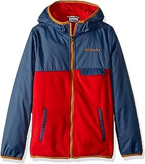 Columbia Boys' Mountain SideOverlay Full Zip Fleece