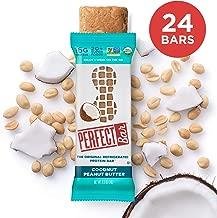Perfect Bar Original Refrigerated Protein Bar, Coconut Peanut Butter, 16g Whole Food Protein, Gluten Free, Organic & Non-GMO, 2.5 Oz. Bars (24 Bars)