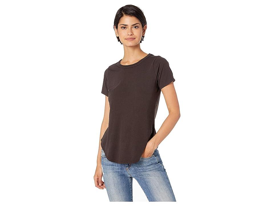 Chaser Vintage Jersey Shirttail Tee (Union Black) Women