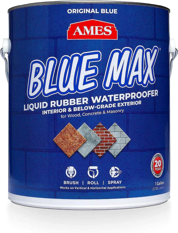 AMES BMX1RG Free shipping security New 1 Gallon Blue Max Regular Liquid Rubber