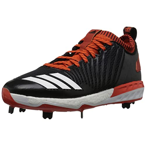 online retailer 3cf8e 78e12 adidas Men s Freak X Carbon Mid Baseball Shoe, Black White Collegiate  Orange,