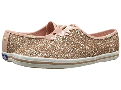 Keds x kate spade new york Champion (Rose Gold Glitter) Women