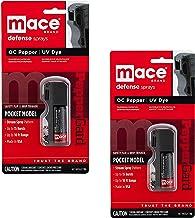Mace Genuine Brand Pocket Model Pepper Spray Bundle - Model 10% PepperGard - Lot of 2 Pieces