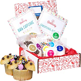 BAKETIVITY Kids Baking DIY Activity Kit - Bake Delicious Bug Cupcakes With Pre-Measured Ingredients - Best Gift Idea For B...
