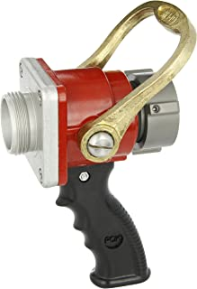 Dixon Valve ACPSO150F Aluminum Fire Equipment, Ball Shut-Off Nozzle with Bolted Style, 1-1/2