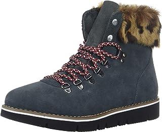 BOBS Women's Bobs Rocky. Fashion Fur Trim Hiking Boot W Memory Foam