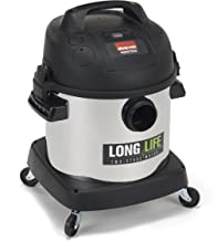 Shop-Vac 9272410 2.0 Peak HP 长寿命不锈钢干湿真空吸尘器,4 加仑