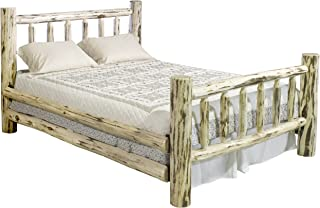 Montana Woodworks Montana Collection Bed, California King, Clear Lacquer Finish