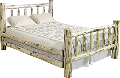 Montana Woodworks Montana Collection Bed, King, Clear Lacquer Finish