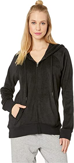 Silky Lounge Zip-Up Jacket