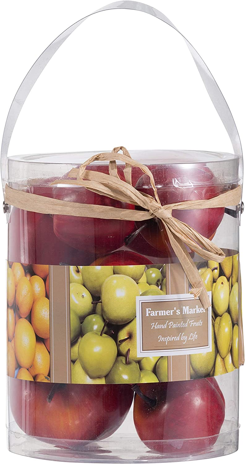 FantasticDecor Indefinitely Artificial online shop Red In Box Apple