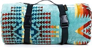 [ペンドルト]PENDLETON タオル フォー トゥー ブランケット Towels For Two Aqua マルチカラー 157cm×177cm XB242 51128 [並行輸入品]