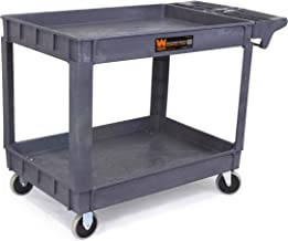 WEN 73004 500-Pound Capacity 36 by 24-Inch Extra Large Service Utility Cart