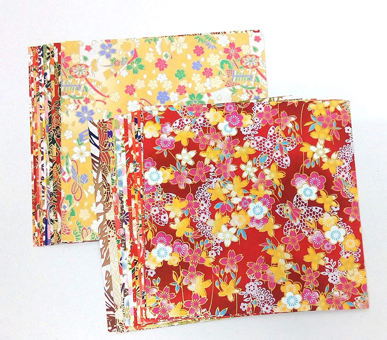 Chiyogami High Grade Quality Chiyogami 30 Colors (Yuzen Print)