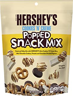 Hershey's Cookies 'N' Creme Popped Snack Mix, 8 oz