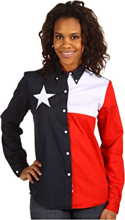 Texas Pieced Flag Shirt