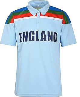 eMarkooz England 1992 Classic World Cup Retro Cricket Shirt