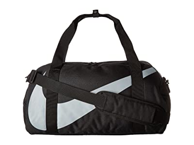 Nike Kids Gym Club Duffel Bag (Little Kids/Big Kids) (Black/Black/Wolf Grey) Duffel Bags
