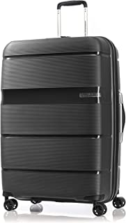 American Tourister Linex Hardside Spinner Luggage 77cm with tsa lock - Black