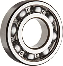 SKF 6316 JEM Medium Series Deep Groove Ball Bearing, Deep Groove Design, ABEC 1 Precision, Open, Steel Cage, C3 Clearance, 80mm Bore, 170mm OD, 39mm Width, 19500lbf Static Load Capacity, 27900lbf Dynamic Load Capacity