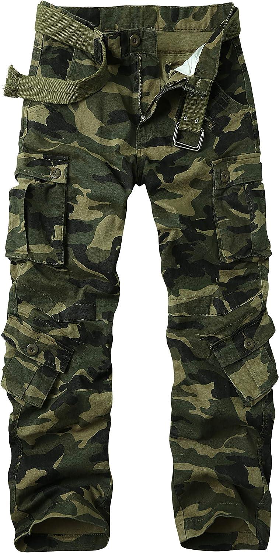 Men's 2020 蔵 BDU Casual Military Pants Tactical Wild ACU Army Combat R